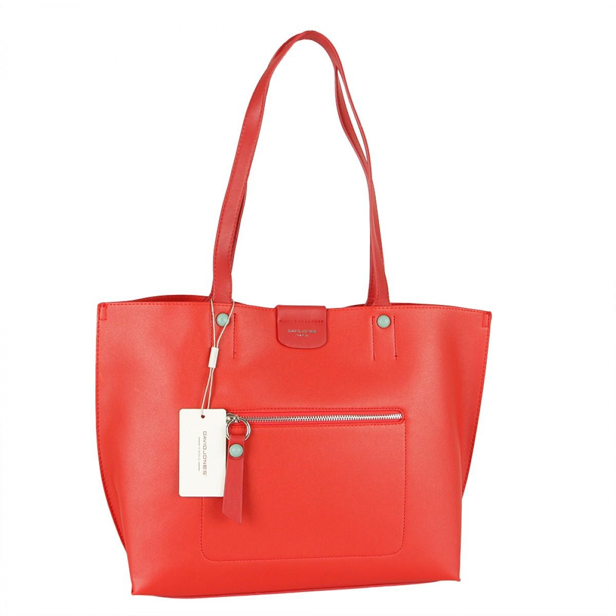Жіноча сумка David Jones 6216-2 RED
