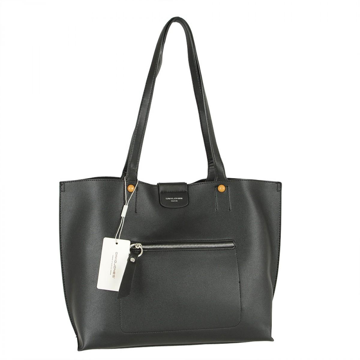 Жіноча сумка David Jones 6216-2 BLACK