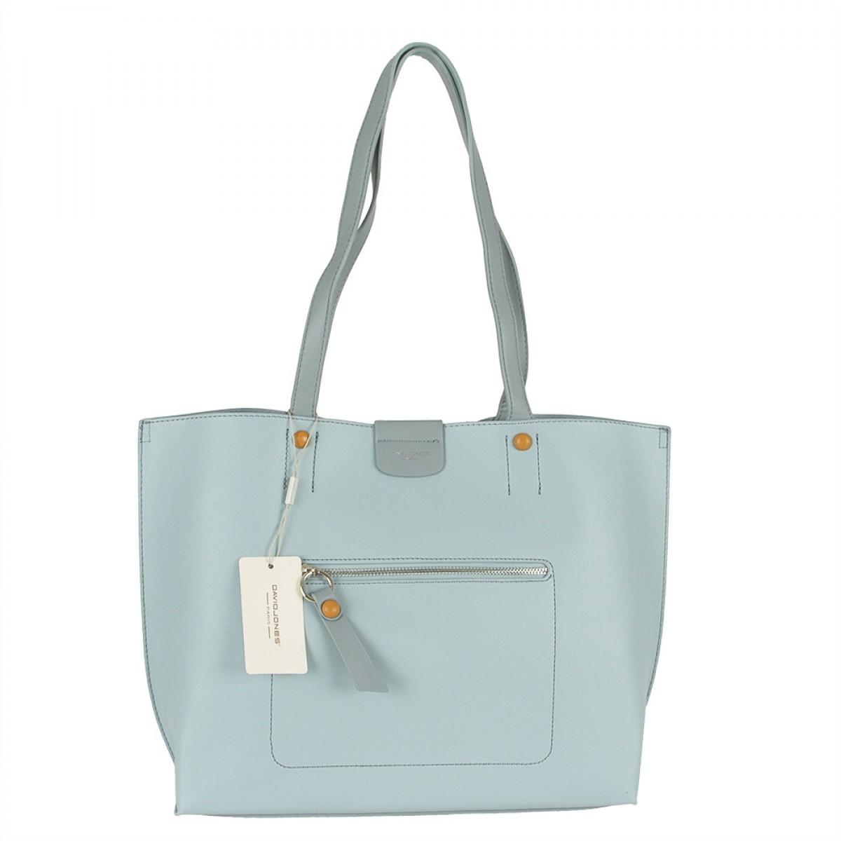 Жіноча сумка David Jones 6216-2 L.BLUE