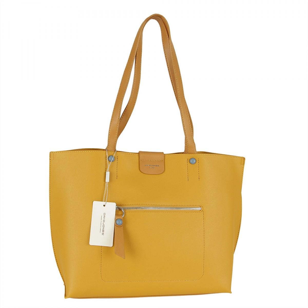 Жіноча сумка David Jones 6216-2 YELLOW