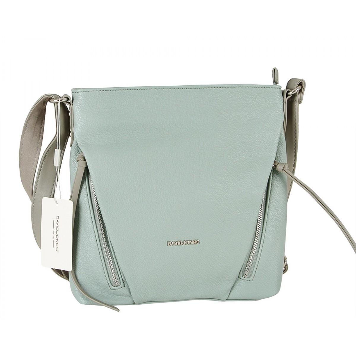 Жіноча сумка David Jones 6218-1 GREEN