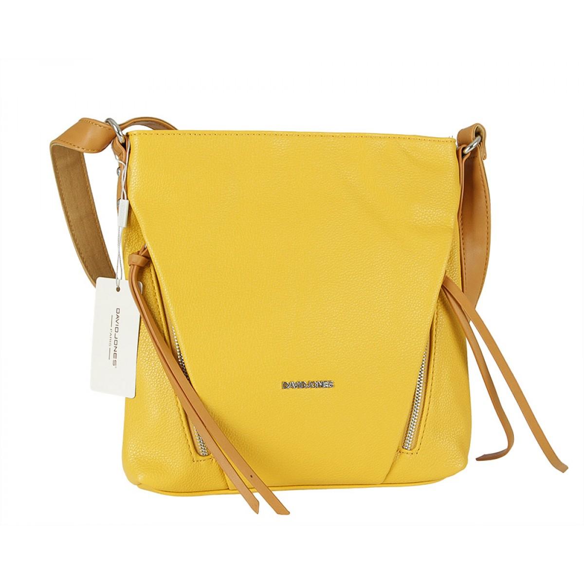 Жіноча сумка David Jones 6218-1 YELLOW