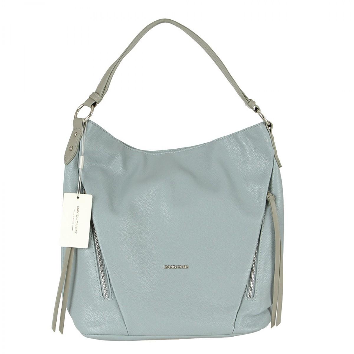 Жіноча сумка David Jones  6218-2 PALE BLUE