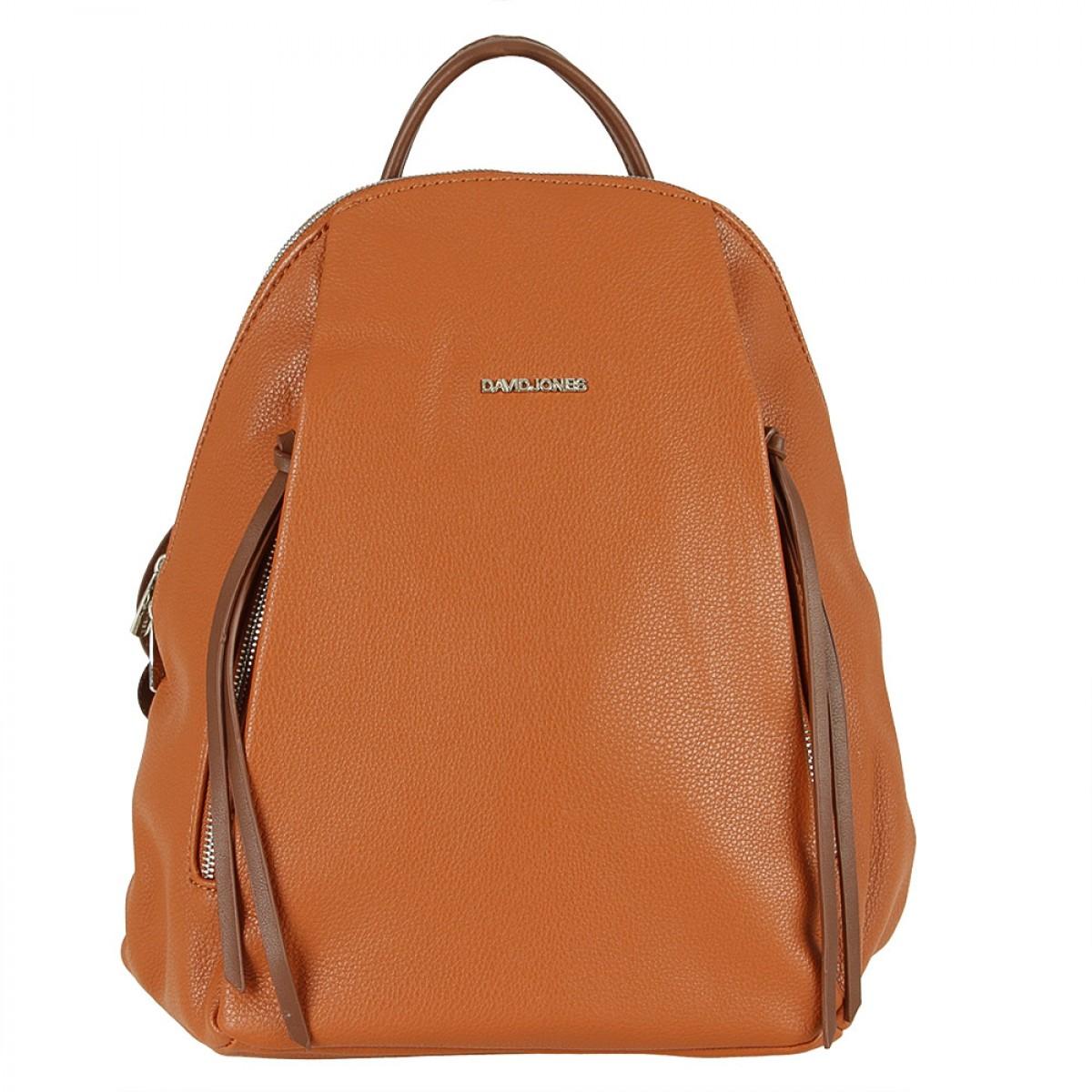 Жіночий рюкзак David Jones 6218-3 COGNAC