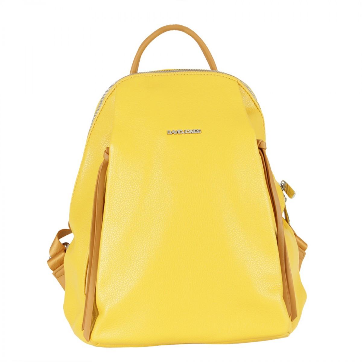 Жіночий рюкзак David Jones 6218-3 YELLOW