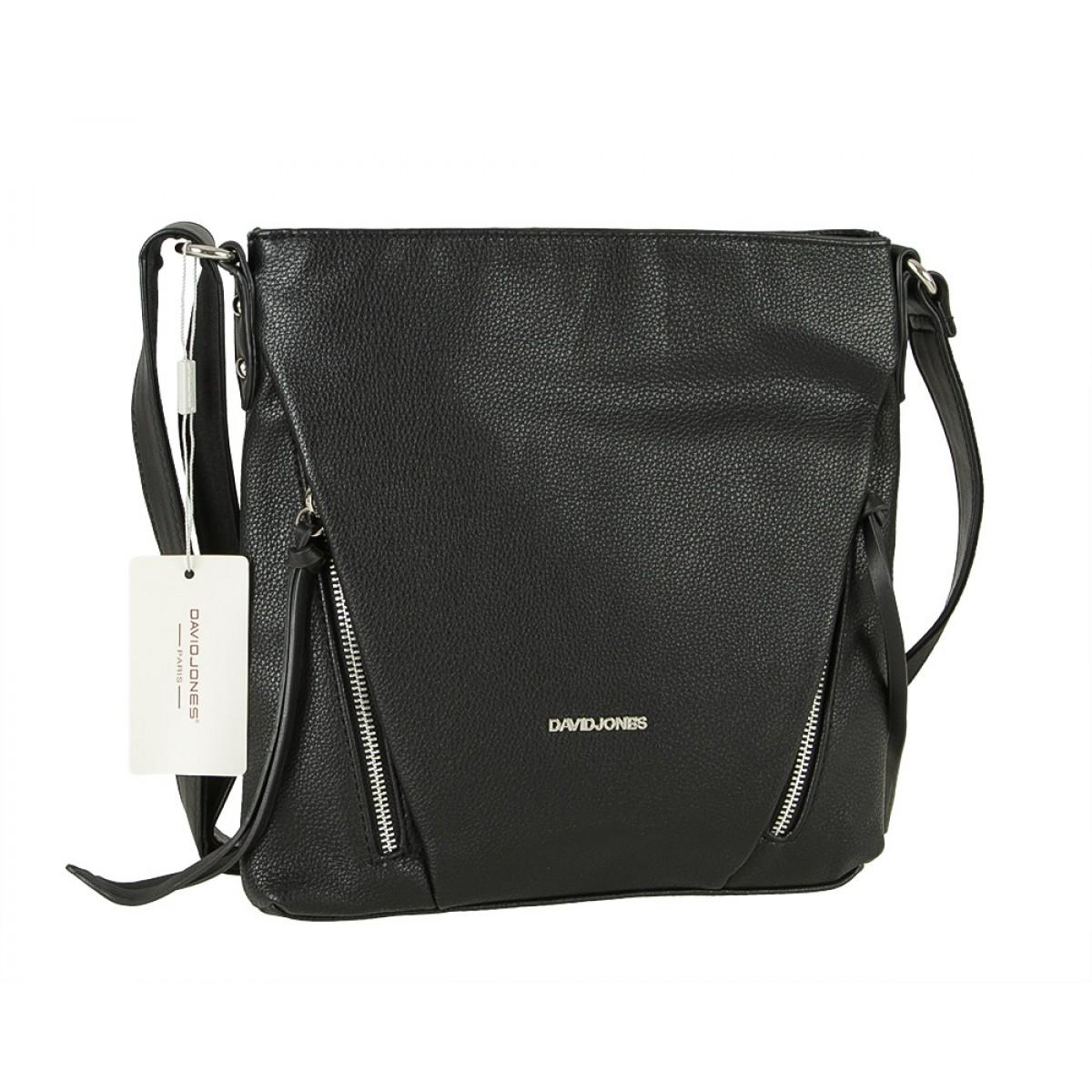 Жіноча сумка David Jones 6218-1 BLACK