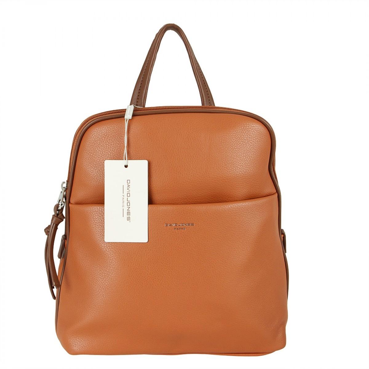 Жіночий рюкзак David Jones 6219-2 COGNAC