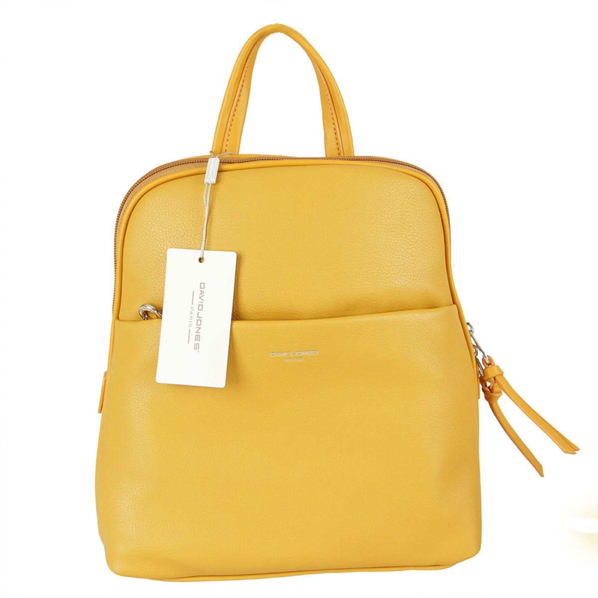 Жіночий рюкзак David Jones 6219-2 YELLOW