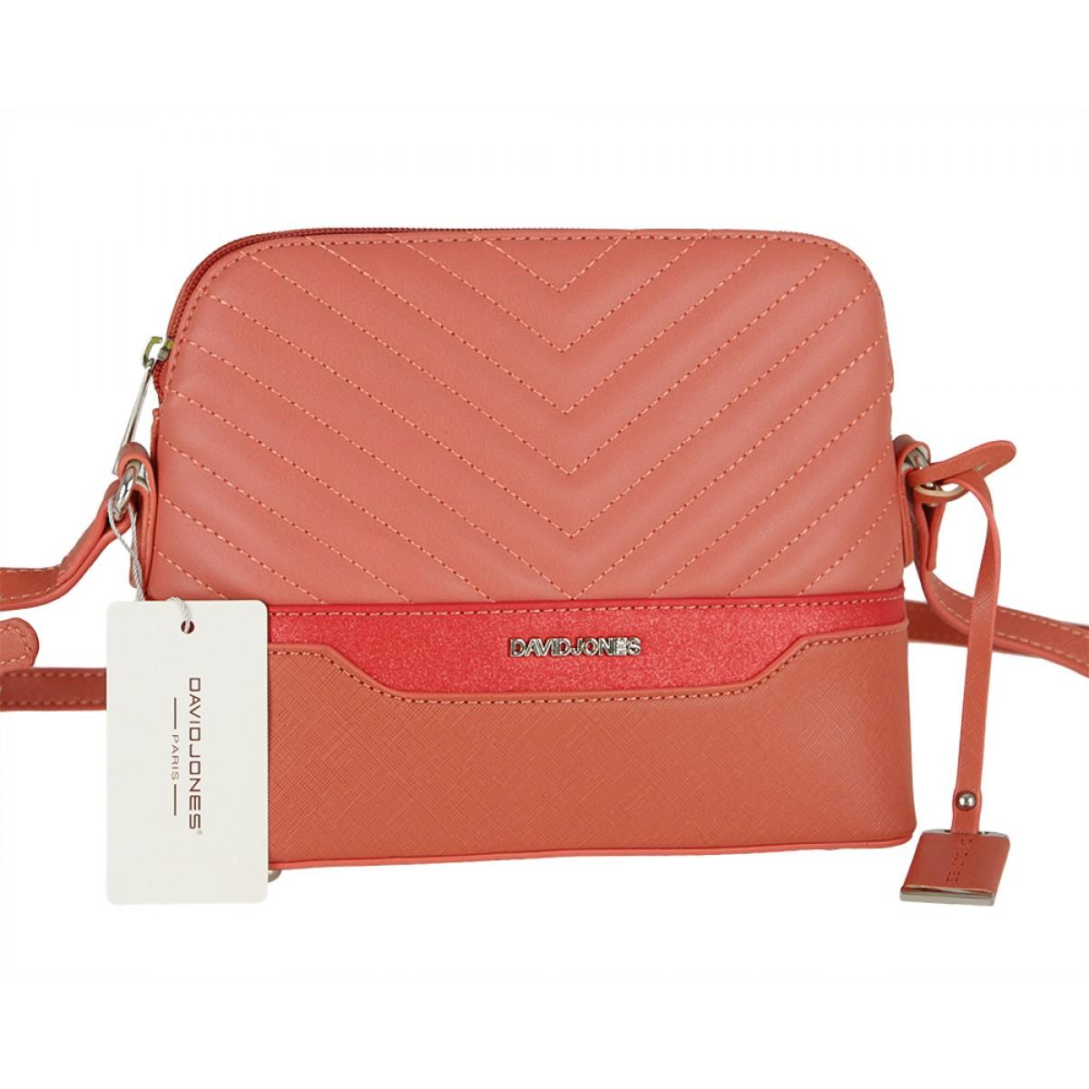 Жіноча сумка David Jones 6220-1 BRICK RED
