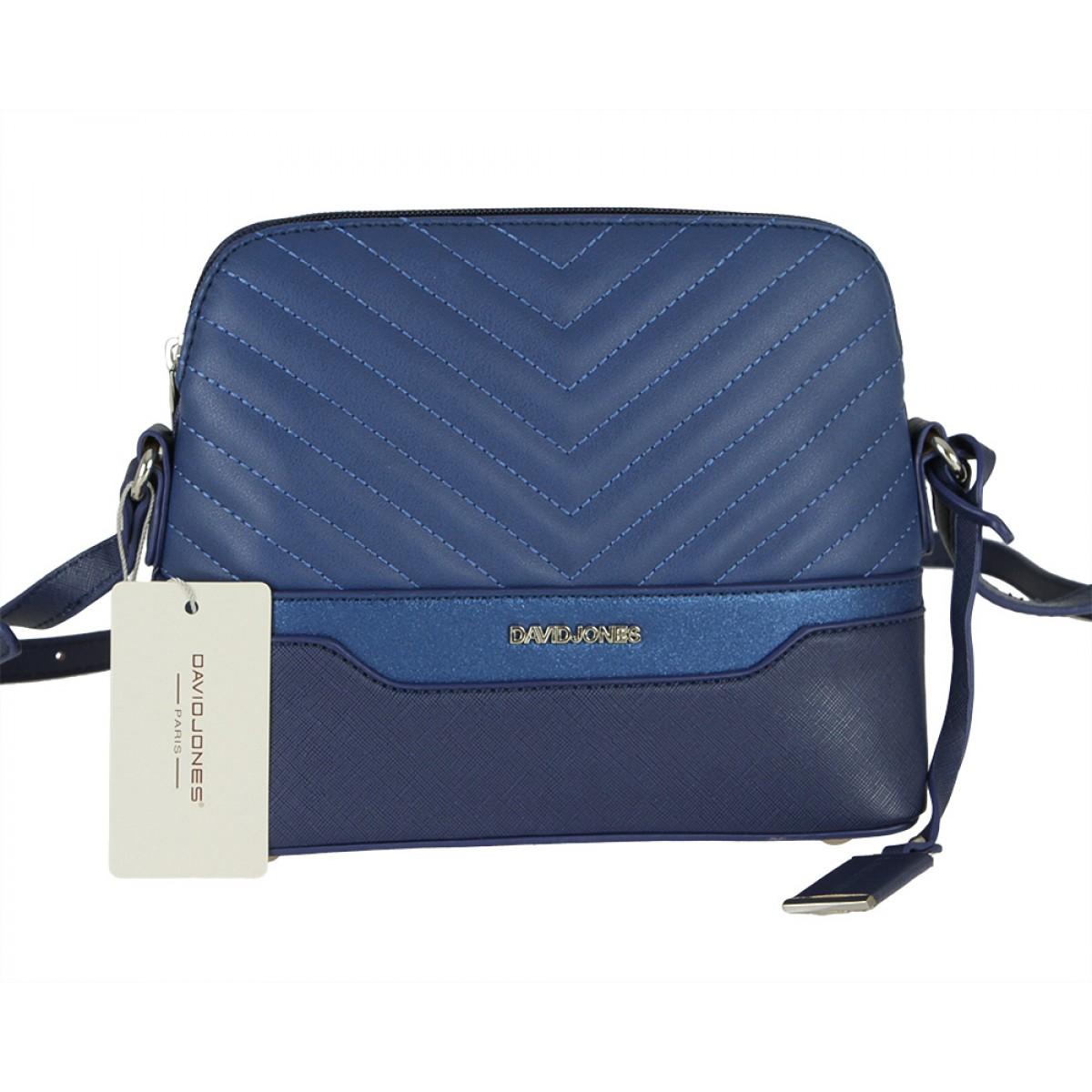 Жіноча сумка David Jones 6220-1 BLUE