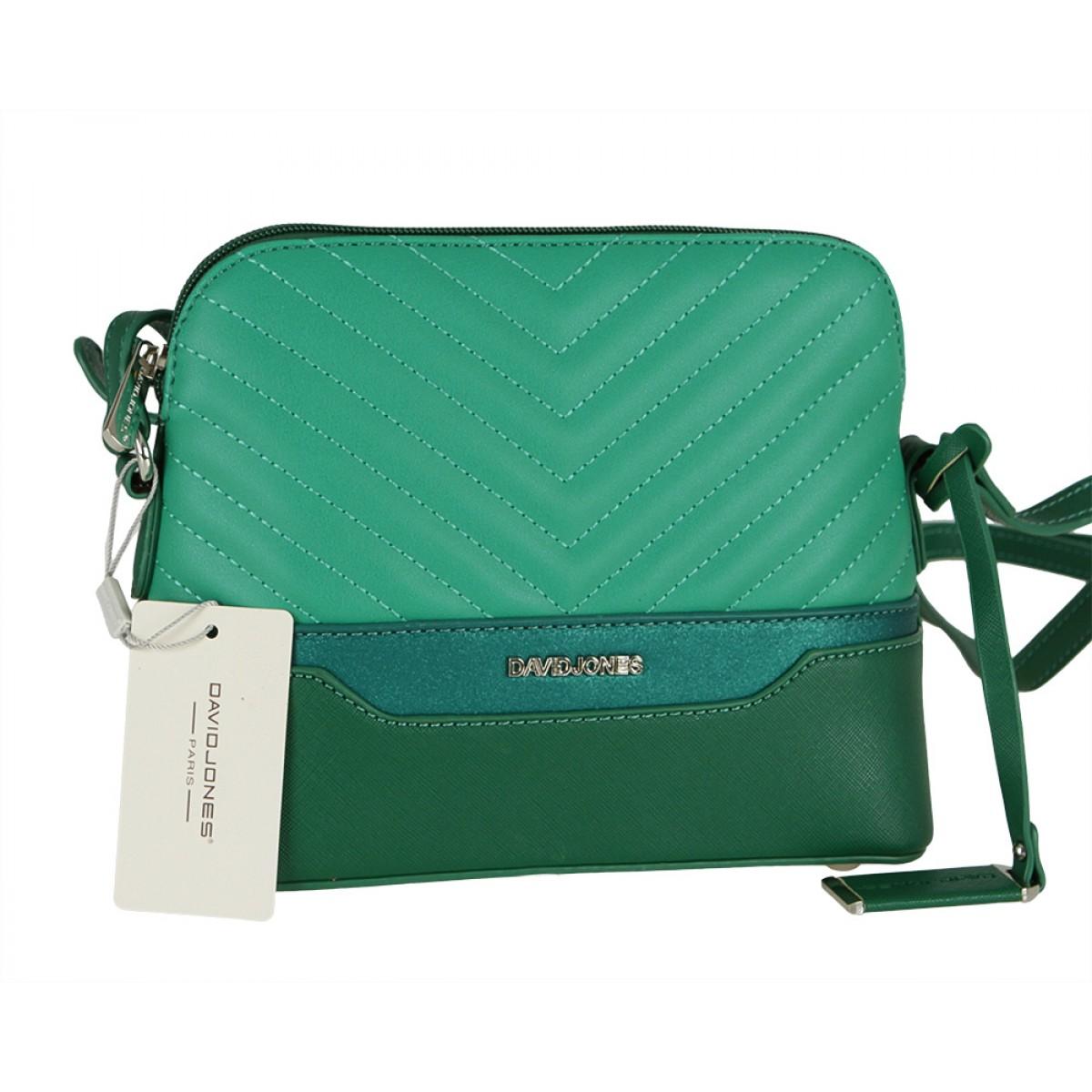 Жіноча сумка David Jones 6220-1 GREEN