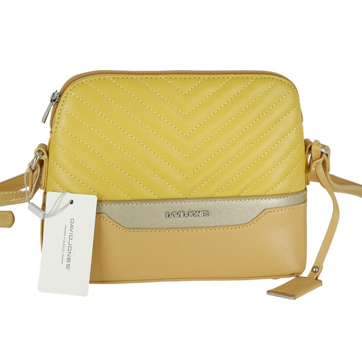Жіноча сумка David Jones 6220-1 YELLOW