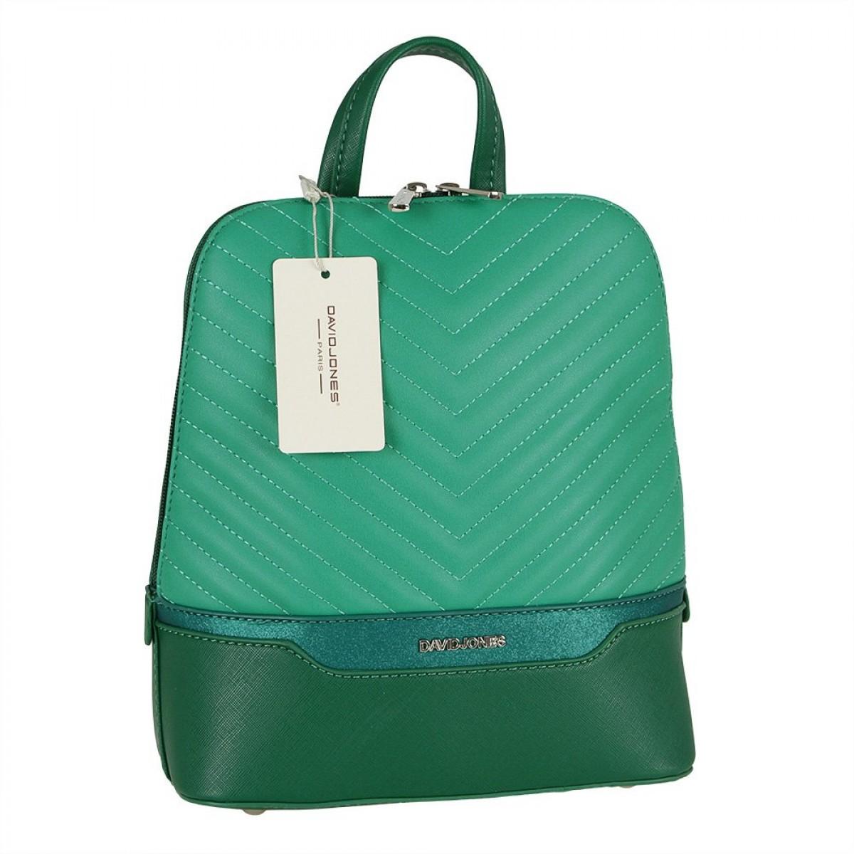 Жіночий рюкзак David Jones 6220-2 GREEN