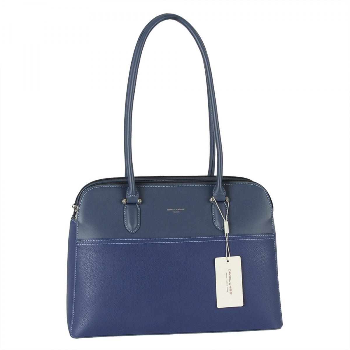 Жіноча сумка David Jones  6221-4 BLUE