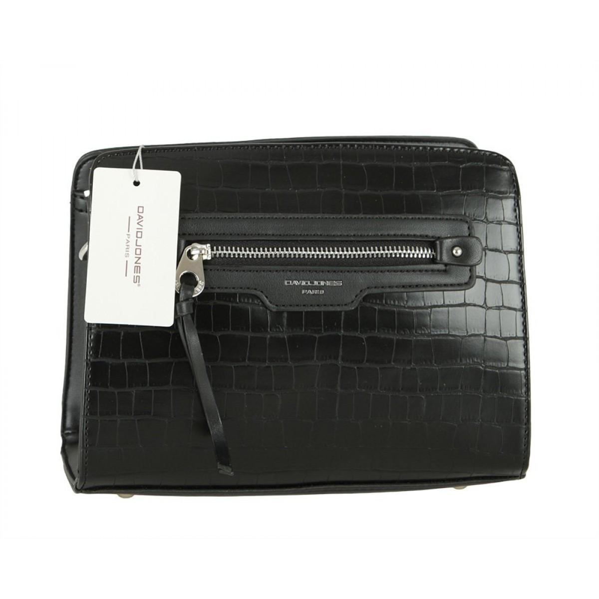 Жіноча сумка David Jones 6222-1 BLACK