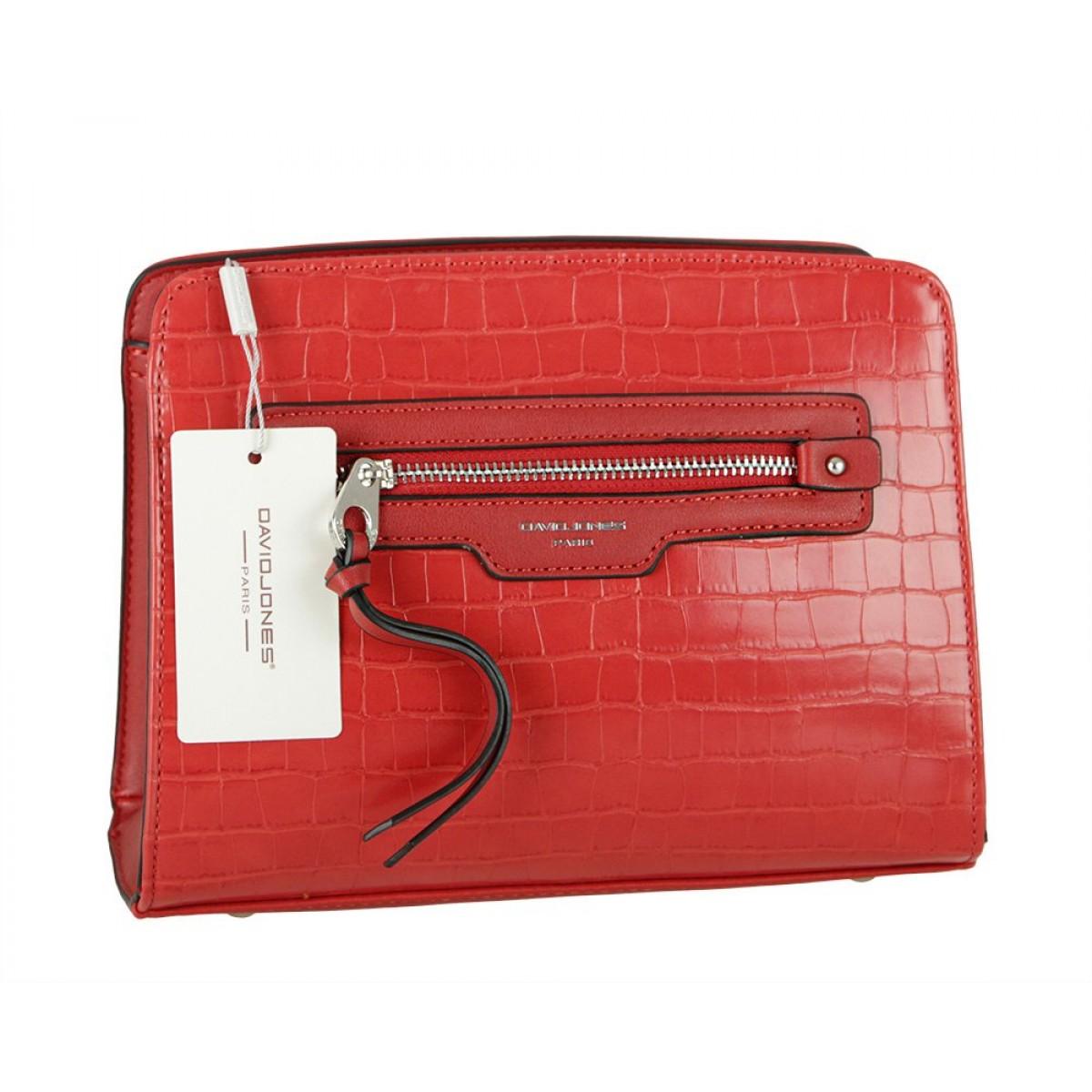 Жіноча сумка David Jones 6222-1 RED