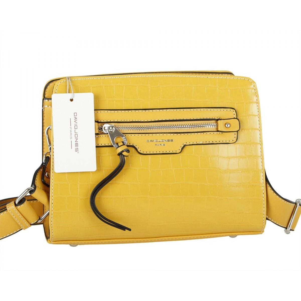 Жіноча сумка David Jones 6222-1 YELLOW