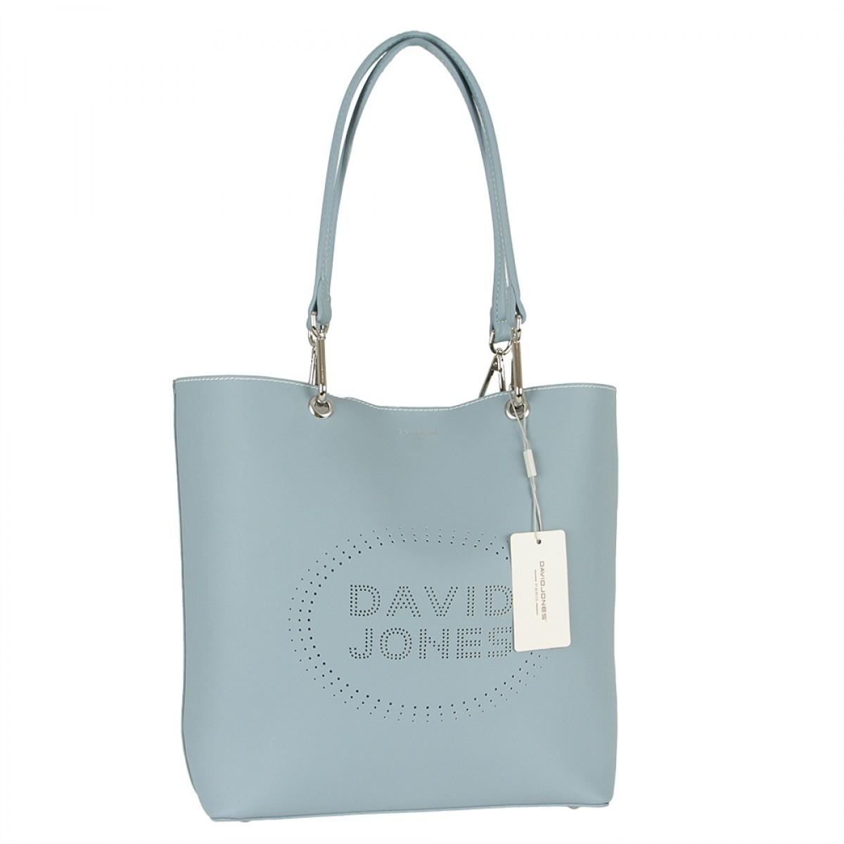 Жіноча сумка David Jones 6223-1 PALE BLUE