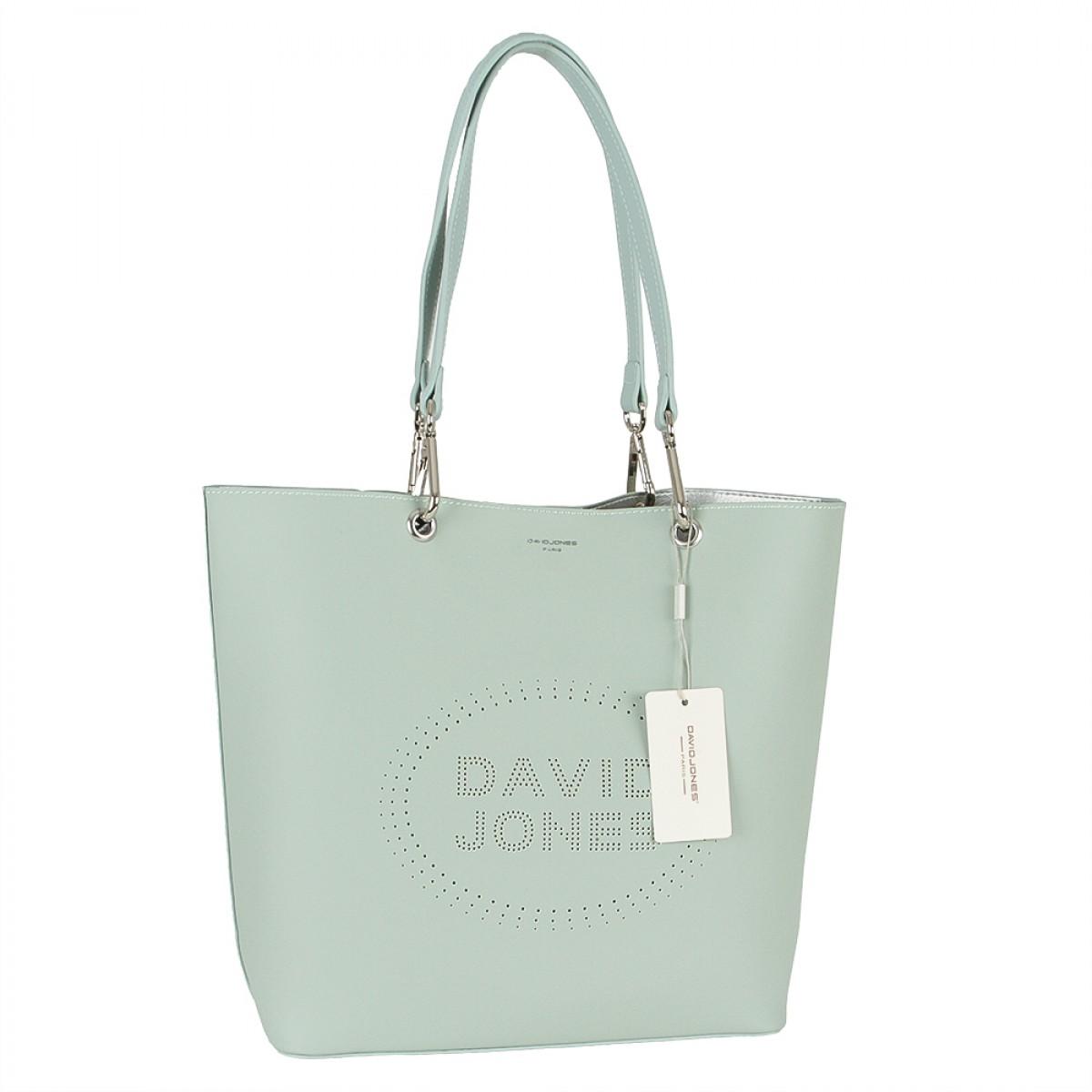 Жіноча сумка David Jones 6223-1 PALE GREEN
