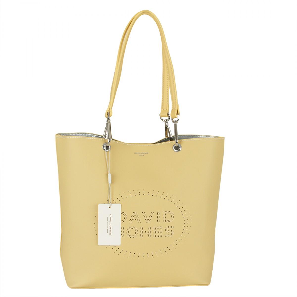 Жіноча сумка David Jones 6223-1 YELLOW