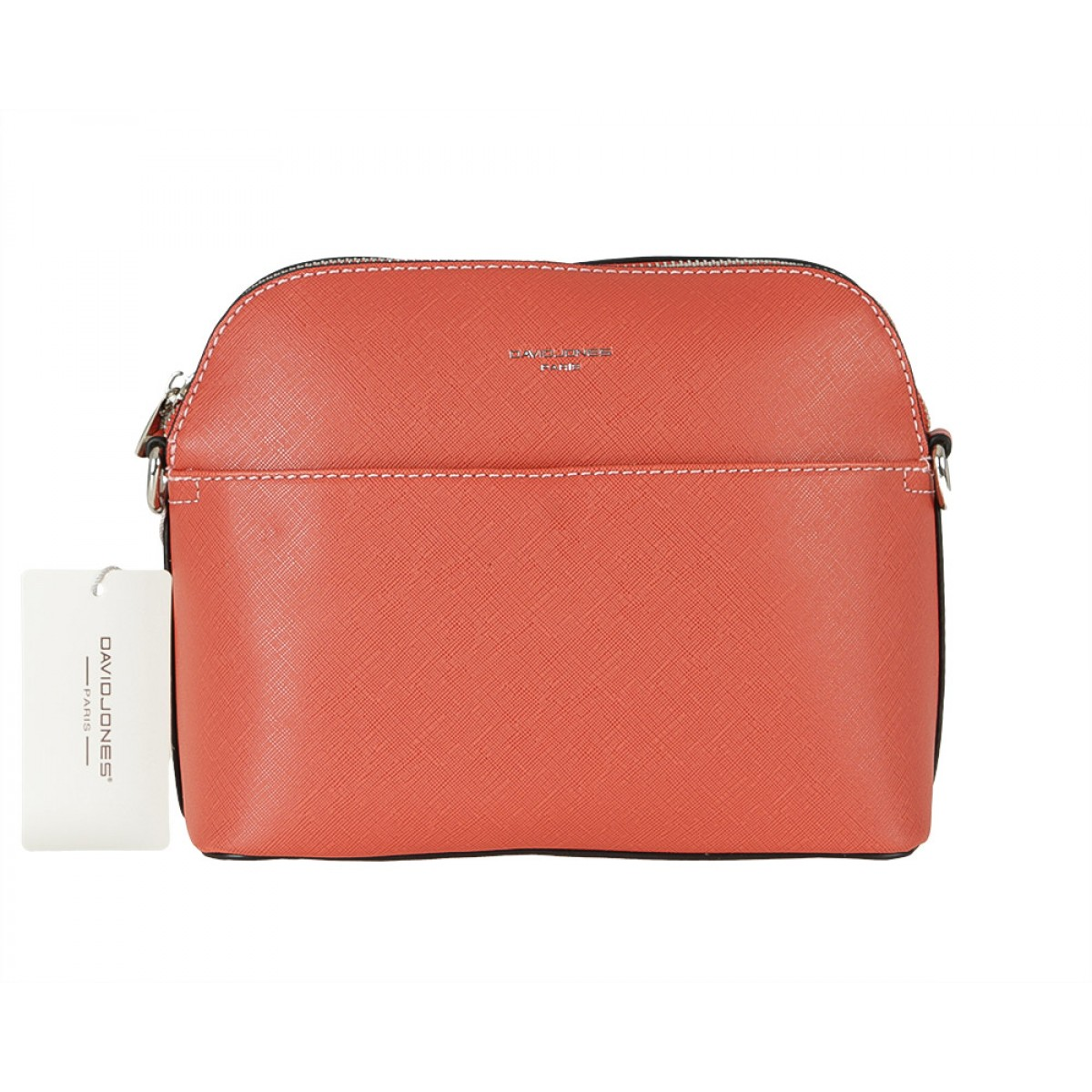 Жіноча сумка David Jones 6224-1 BRICK RED