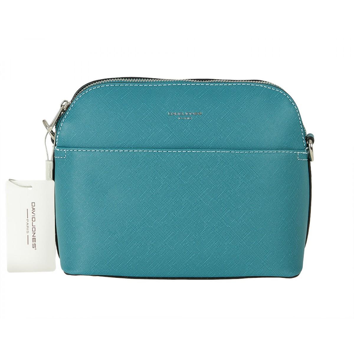 Жіноча сумка David Jones 6224-1 TURQUOISE