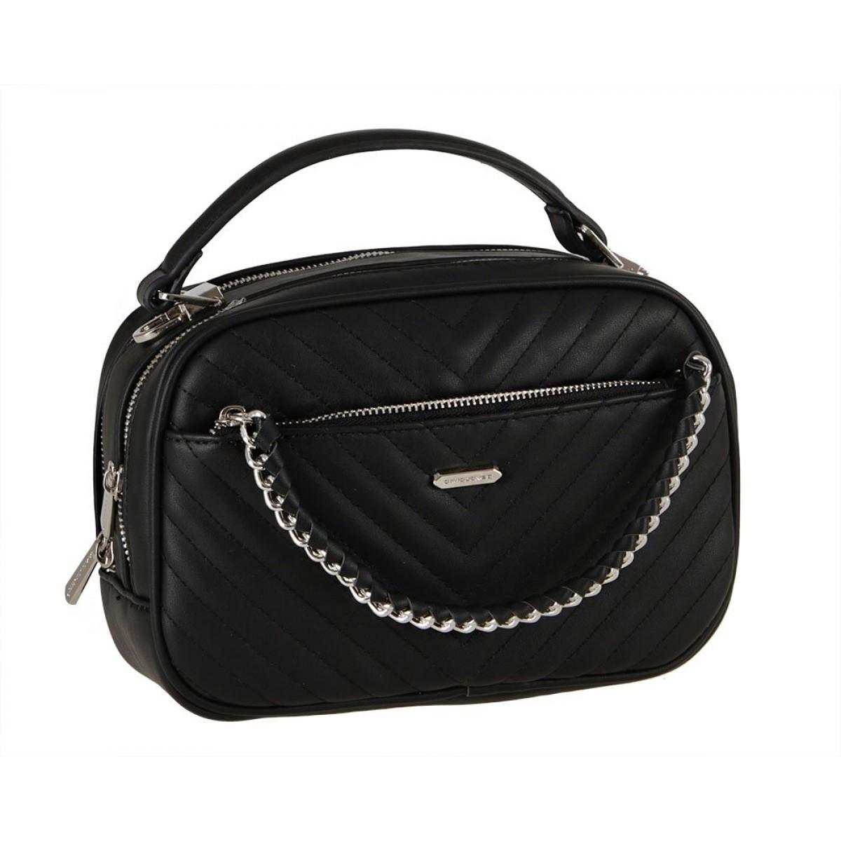 Жіноча сумка David Jones 6232-2 BLACK