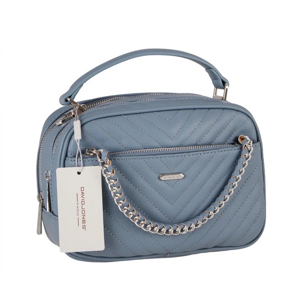 Жіноча сумка David Jones 6232-2 L.BLUE