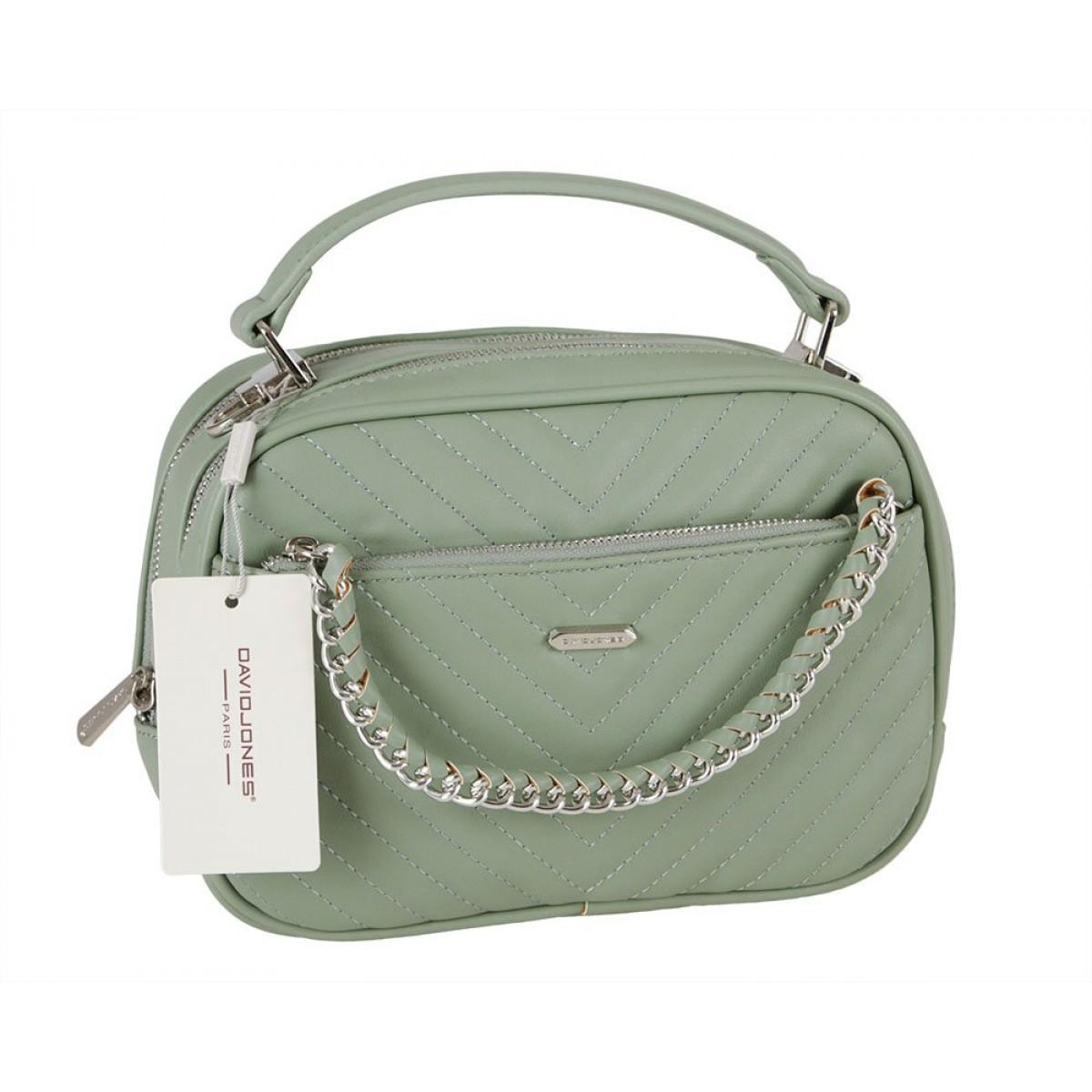Жіноча сумка David Jones 6232-2 PALE GREEN