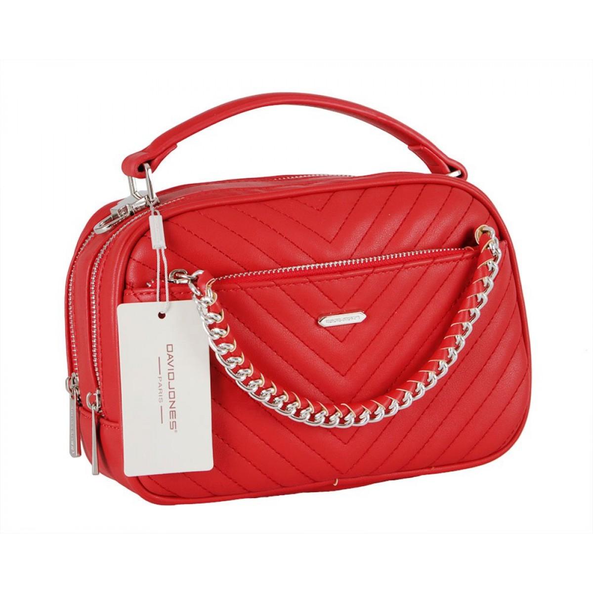 Жіноча сумка David Jones 6232-2 RED