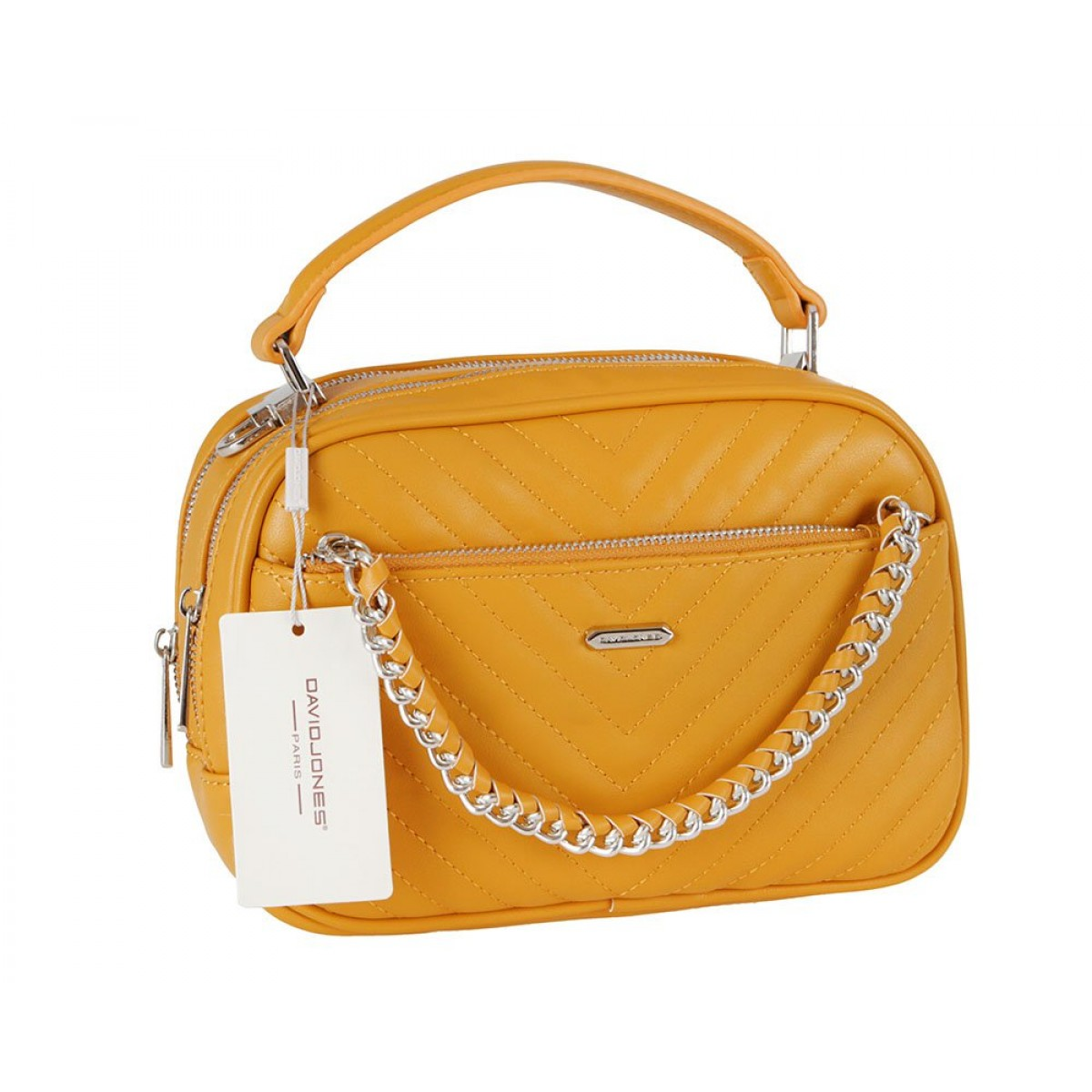 Жіноча сумка David Jones 6232-2 YELLOW