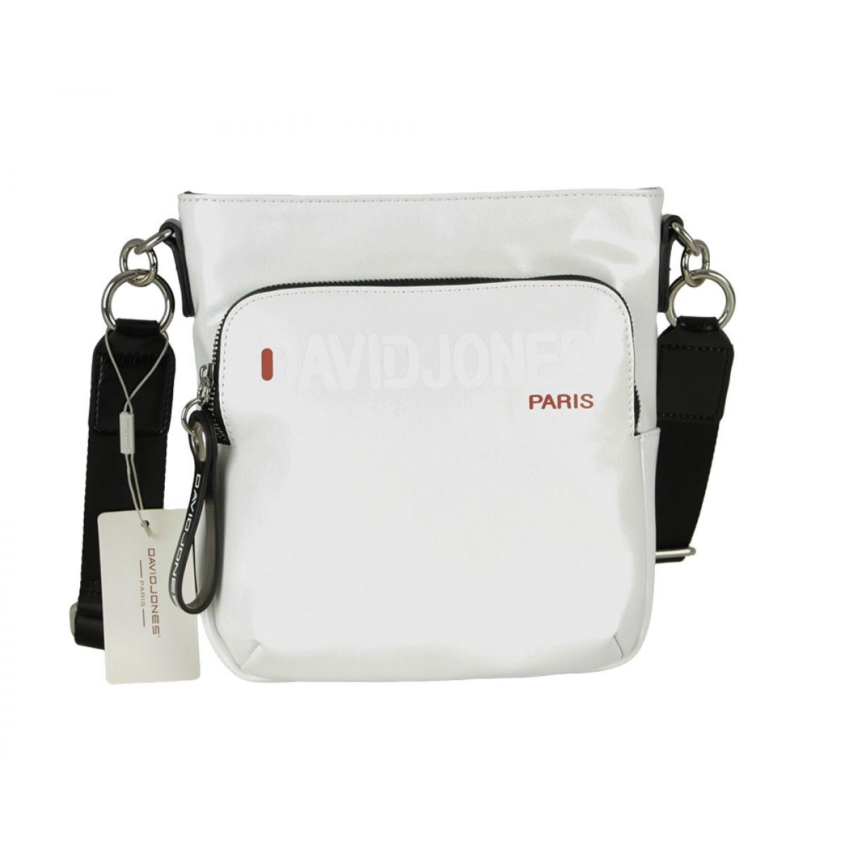Жіноча сумка David Jones 6237-3 WHITE