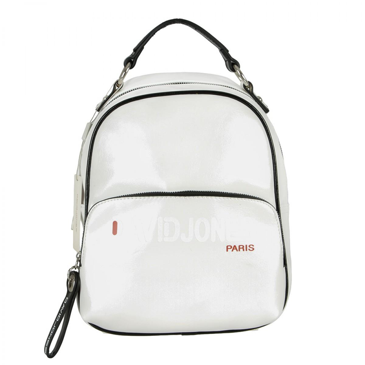 Жіночий рюкзак David Jones 6237-4 WHITE