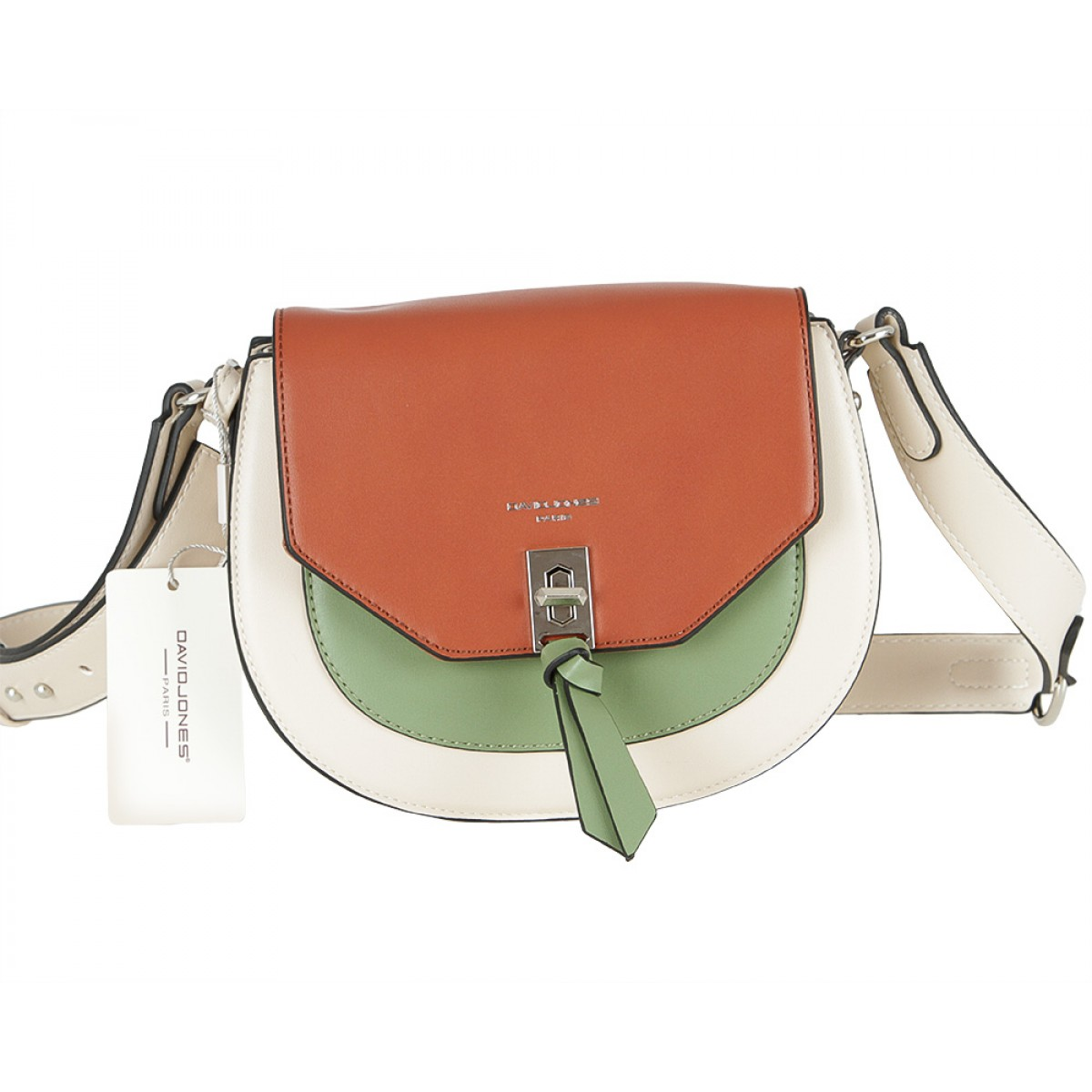 Жіноча сумка David Jones 6239-1 BEIGE