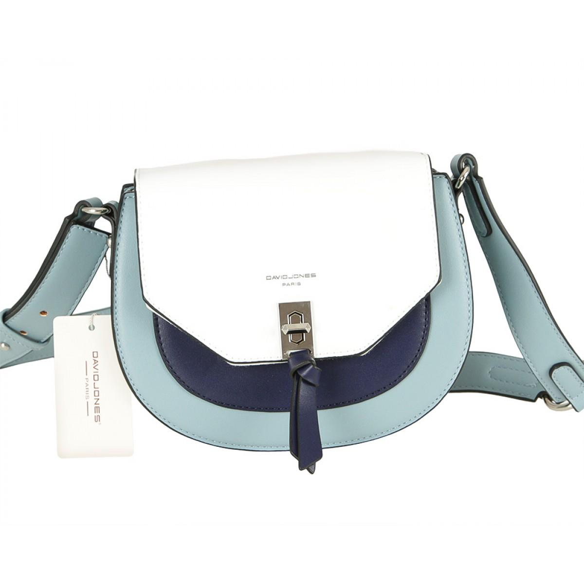 Жіноча сумка David Jones 6239-1 L.BLUE