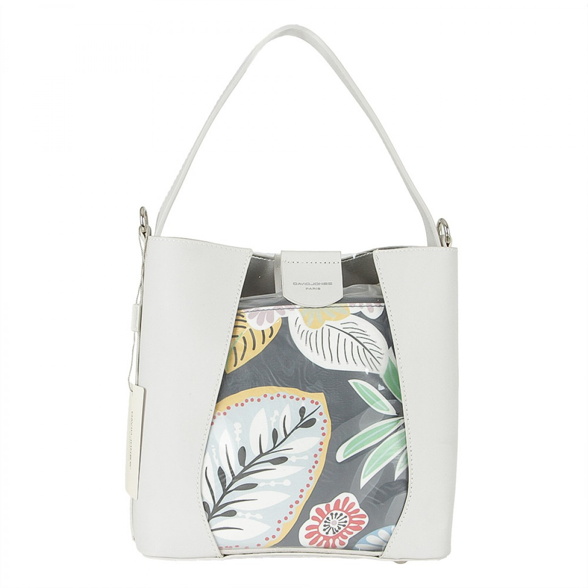 Жіноча сумка David Jones 6245-1 CREAMY WHITE