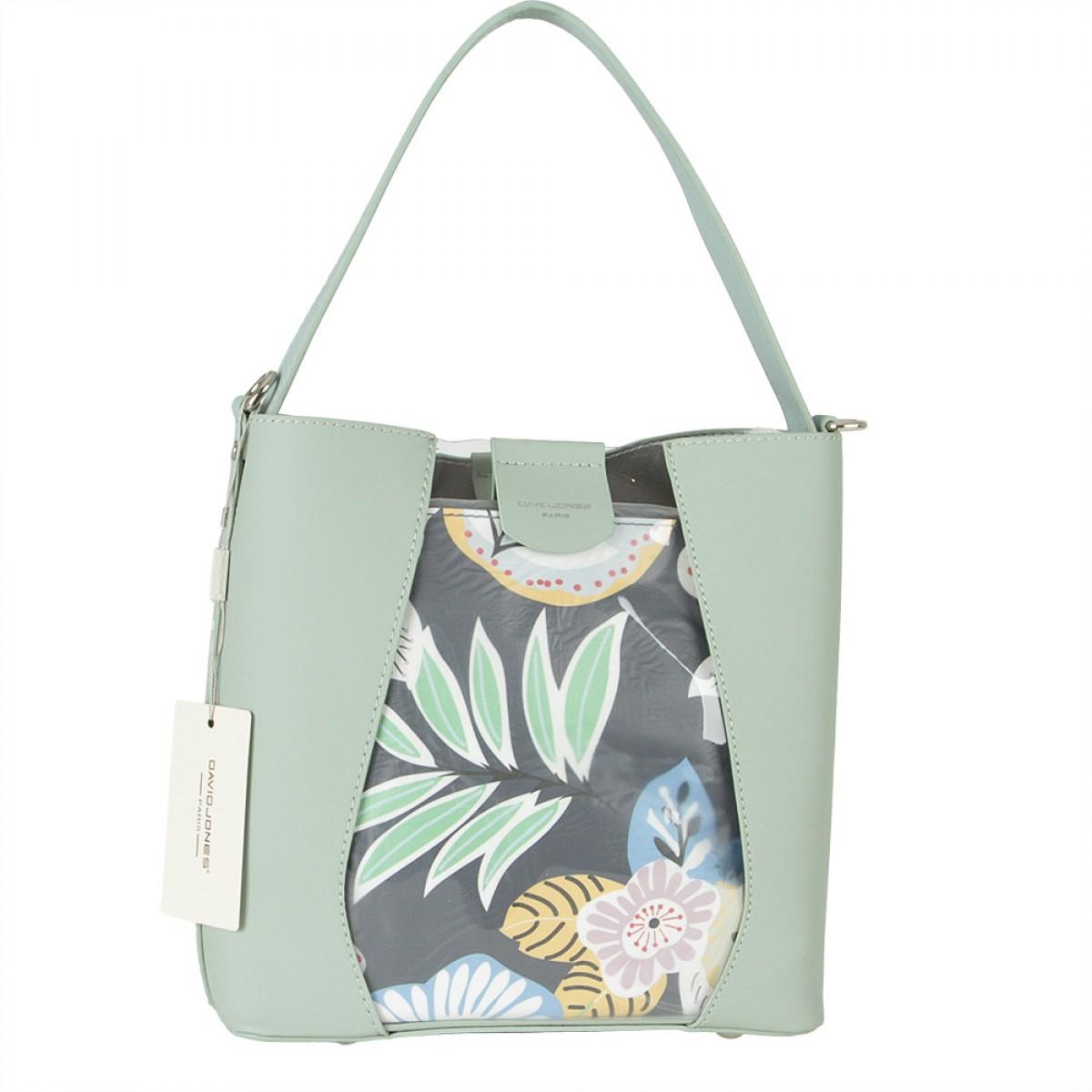 Жіноча сумка David Jones 6245-1 PALE GREEN