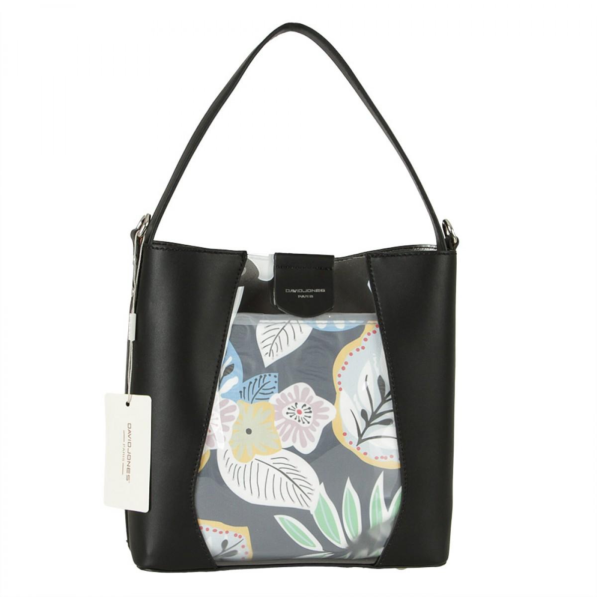 Жіноча сумка David Jones 6245-1 BLACK