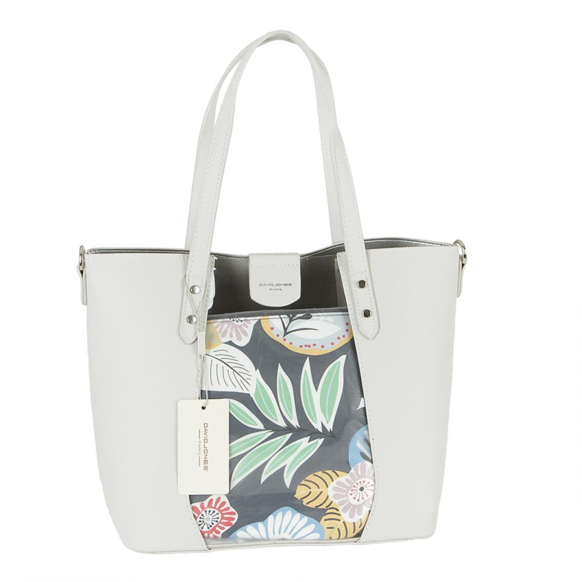 Жіноча сумка David Jones 6245-2 CREAMY WHITE
