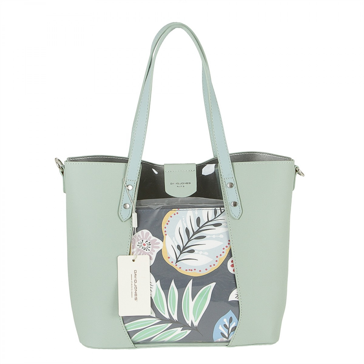 Жіноча сумка David Jones 6245-2 PALE GREEN