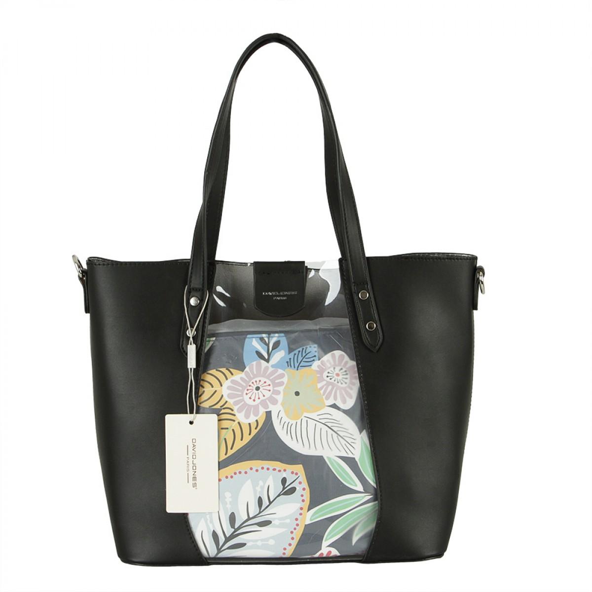 Жіноча сумка David Jones 6245-2 BLACK