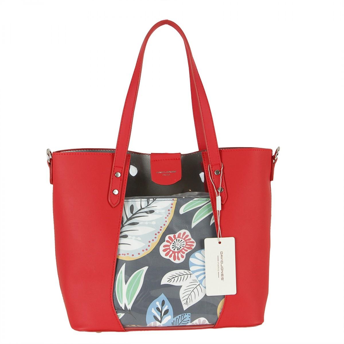 Жіноча сумка David Jones 6245-2 RED