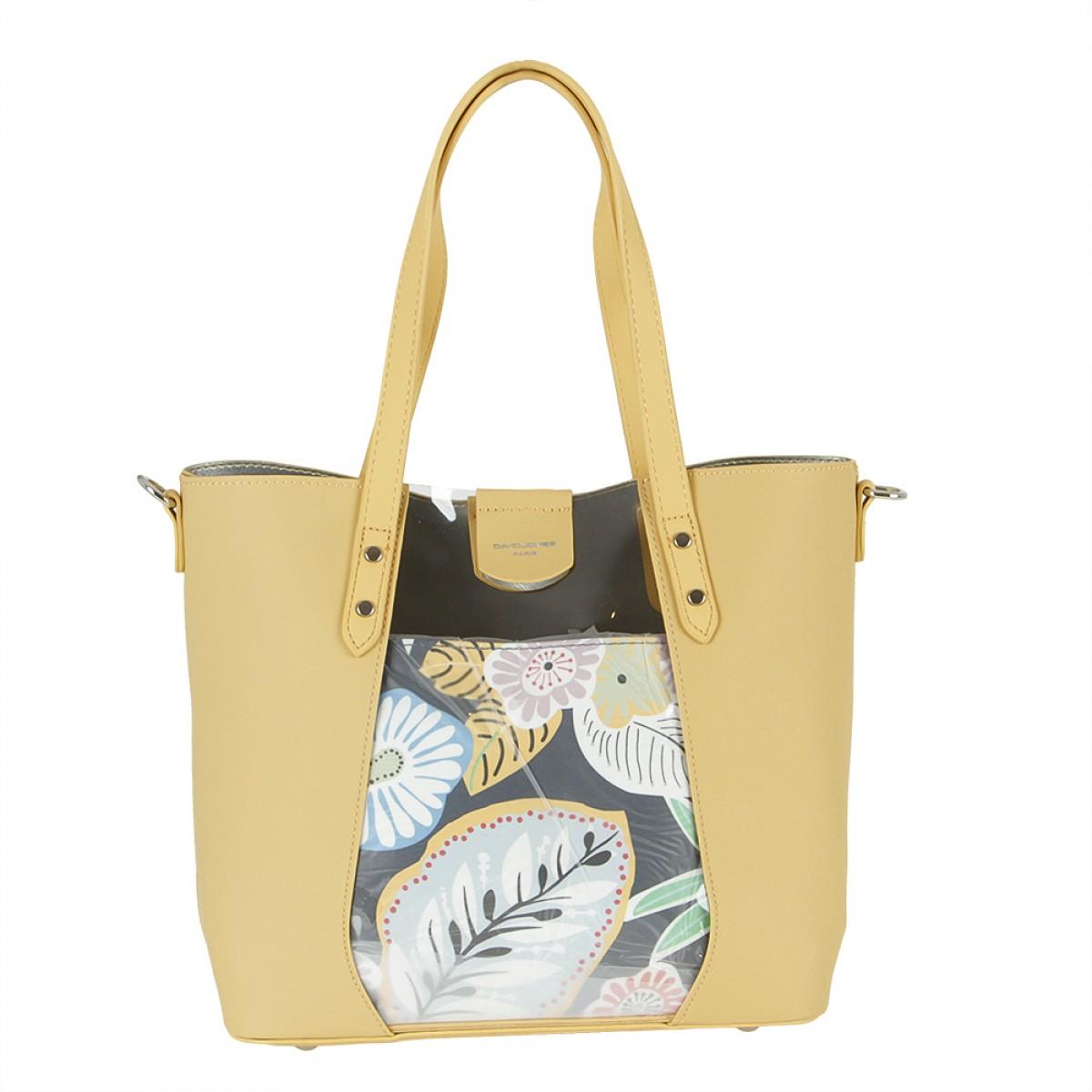Жіноча сумка David Jones 6245-2 YELLOW