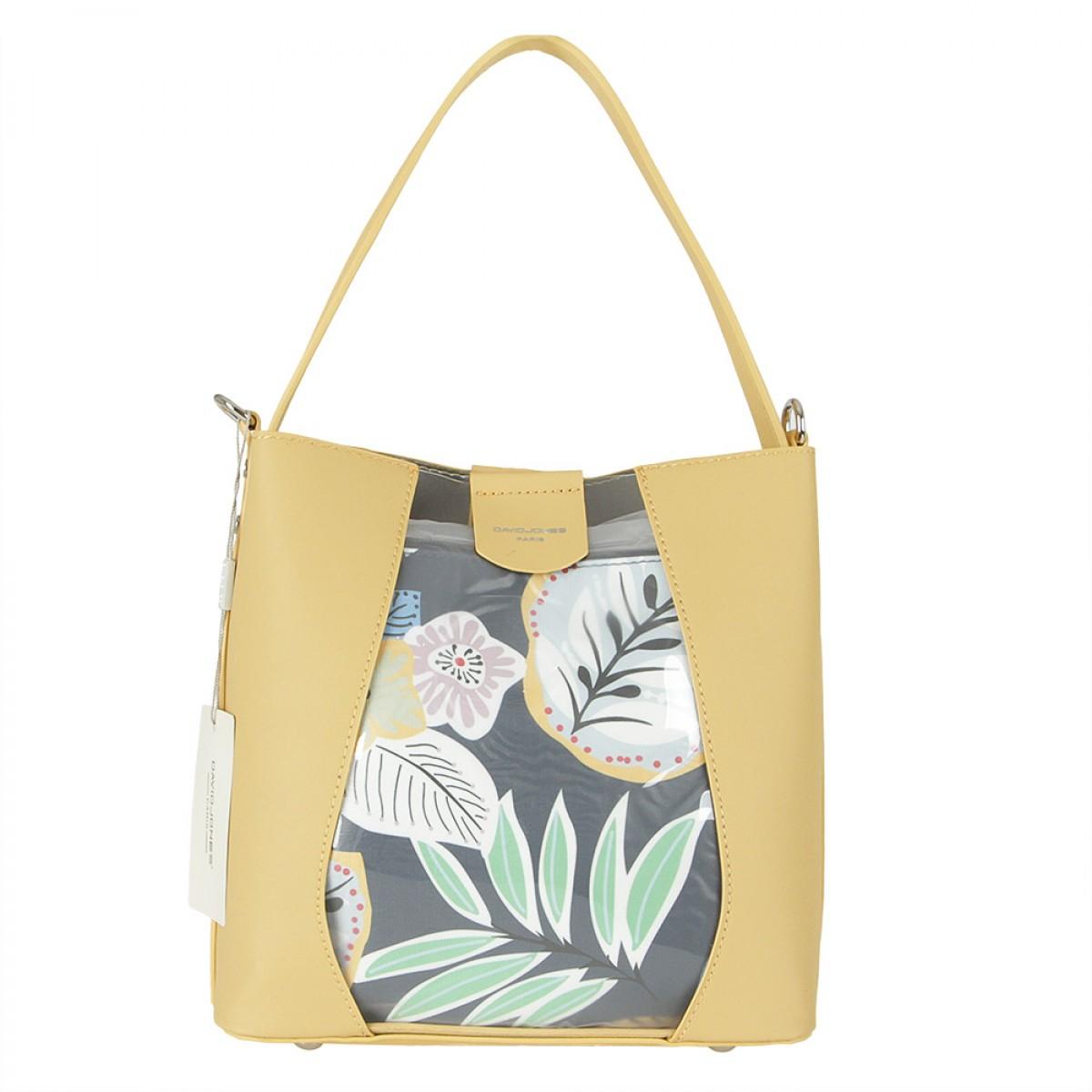 Жіноча сумка David Jones 6245-1 YELLOW