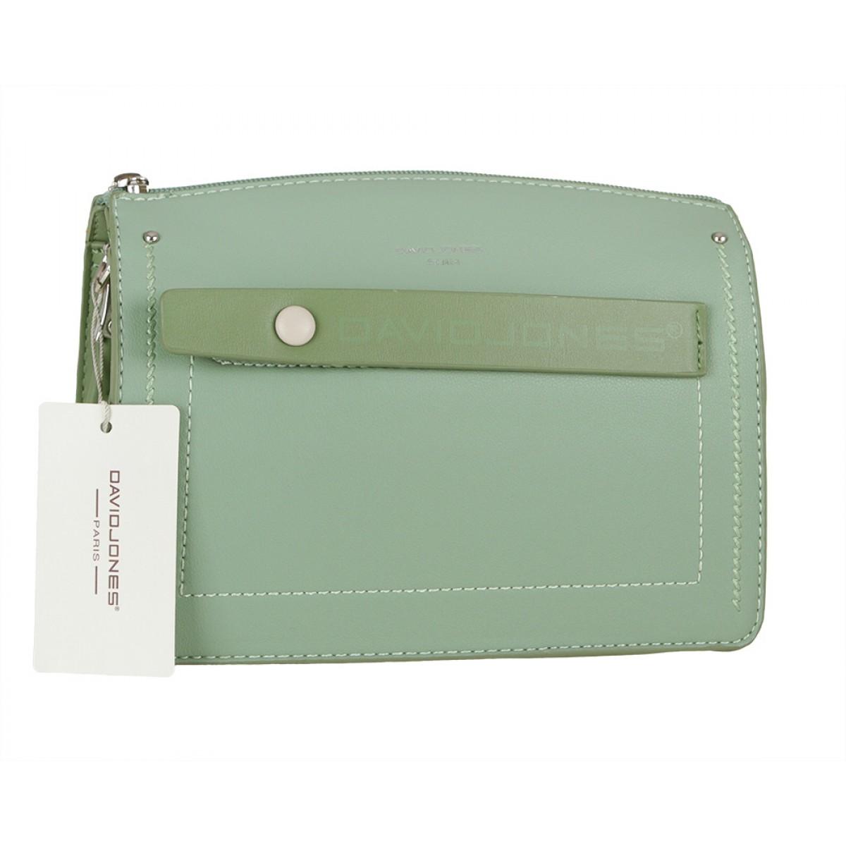 Жіноча сумка David Jones 6247-1 GREEN
