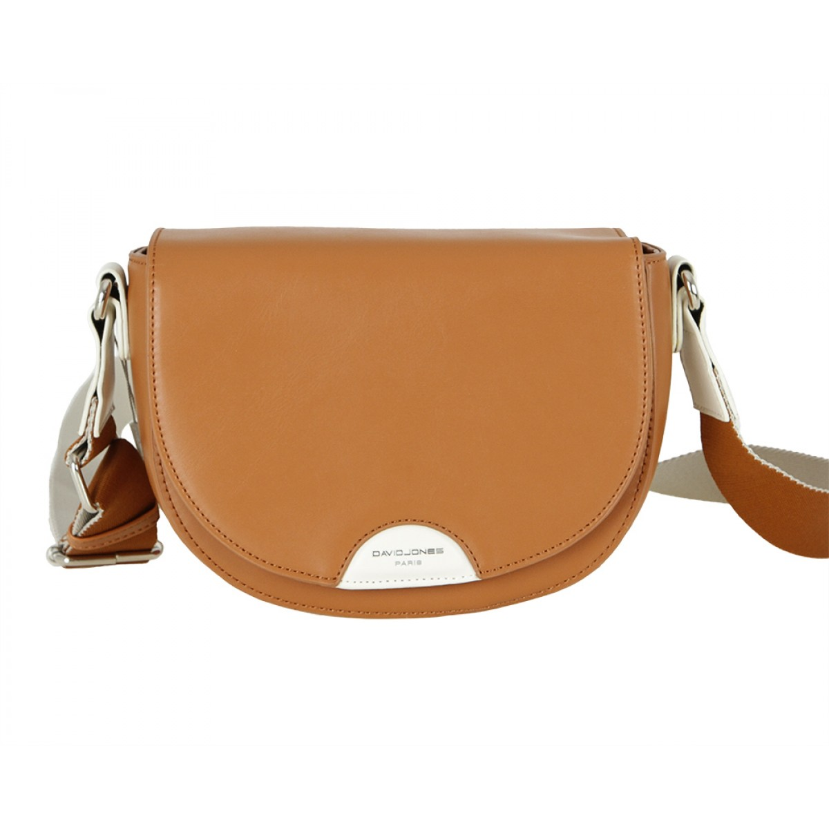 Жіноча сумка David Jones 6251-1 COGNAC