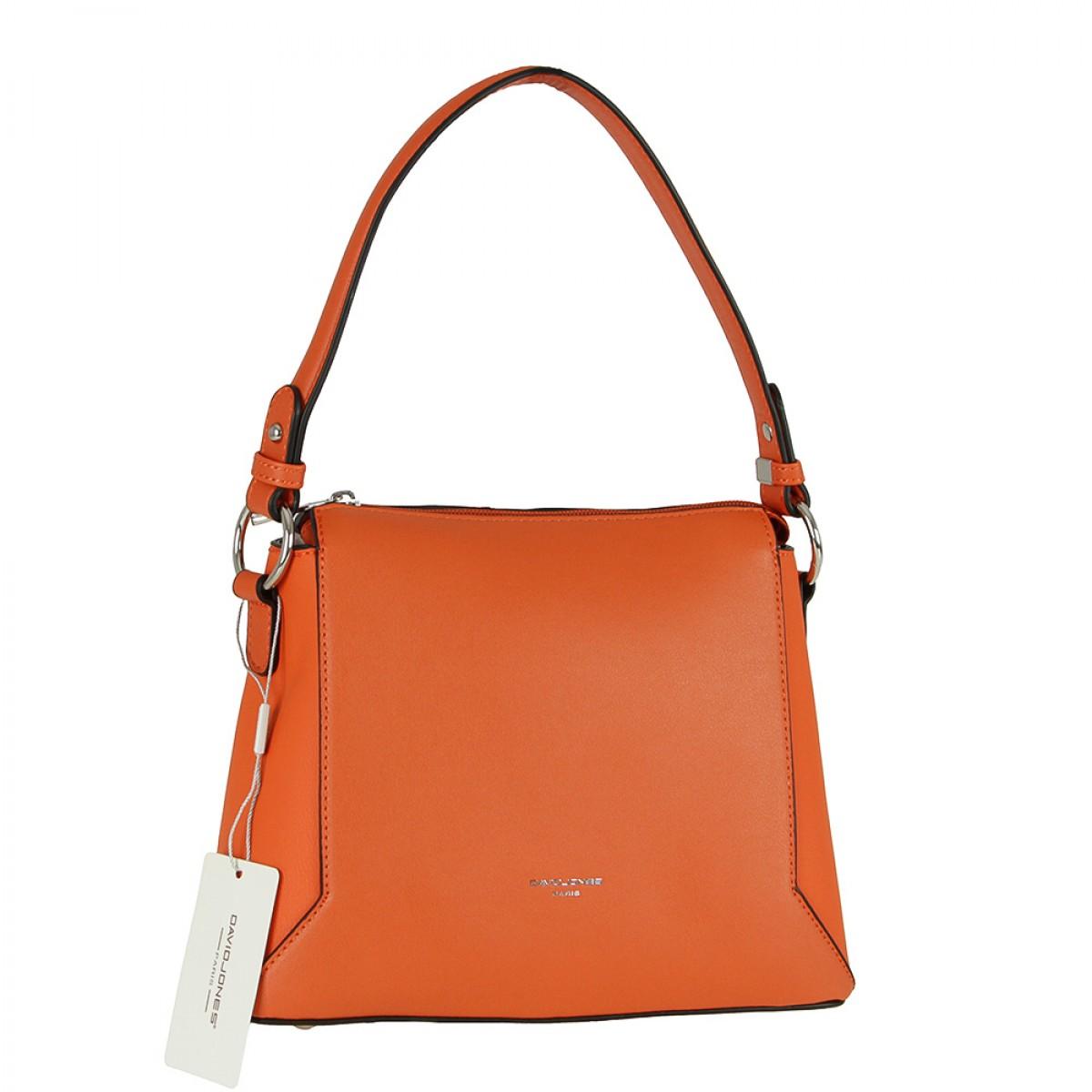 Жіноча сумка David Jones 6255-1 ORANGE