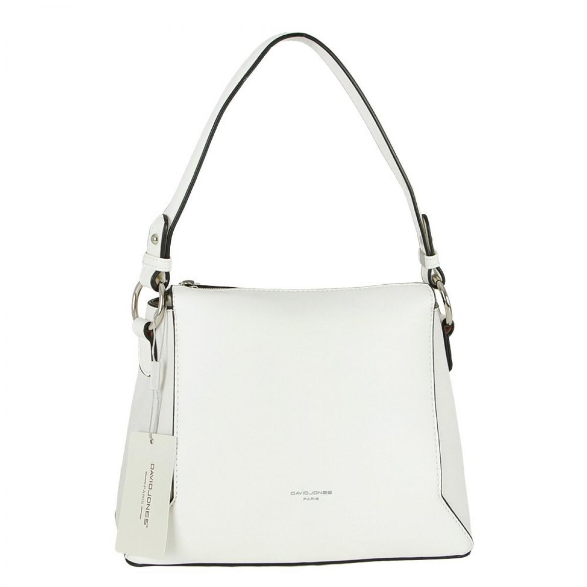 Жіноча сумка David Jones 6255-1 WHITE