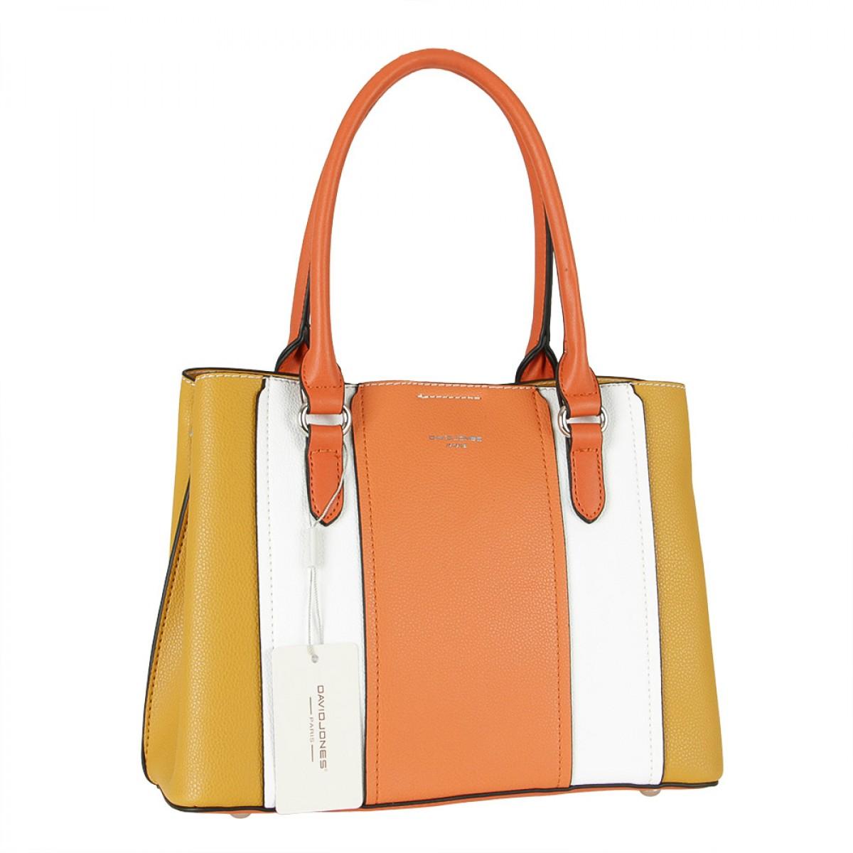Жіноча сумка David Jones 6258-2 YELLOW