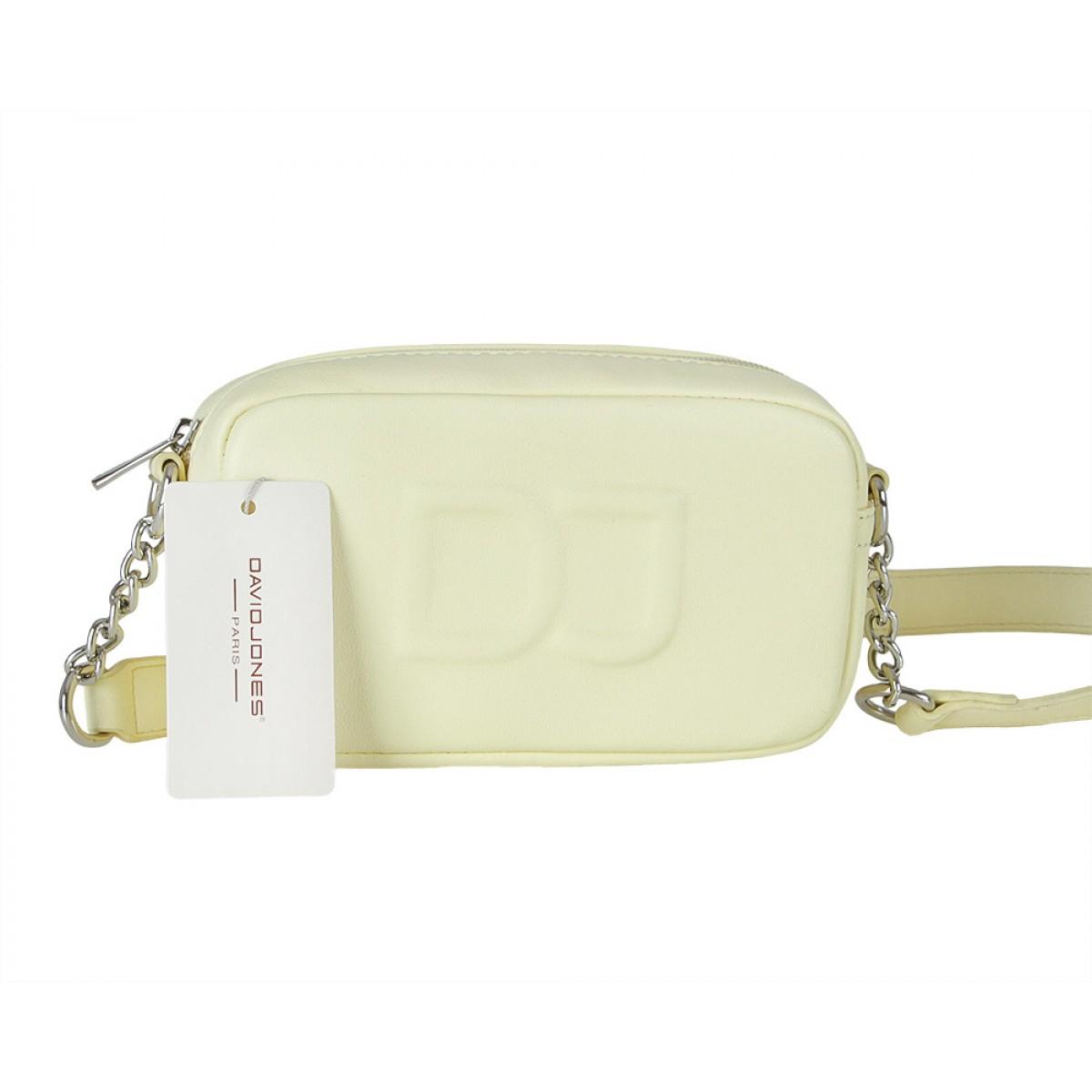 Жіноча сумка David Jones 6260-1 FAINT YELLOW